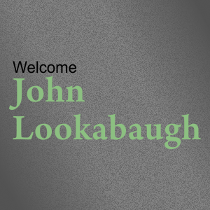 Guest Speaker John Lookabaugh
